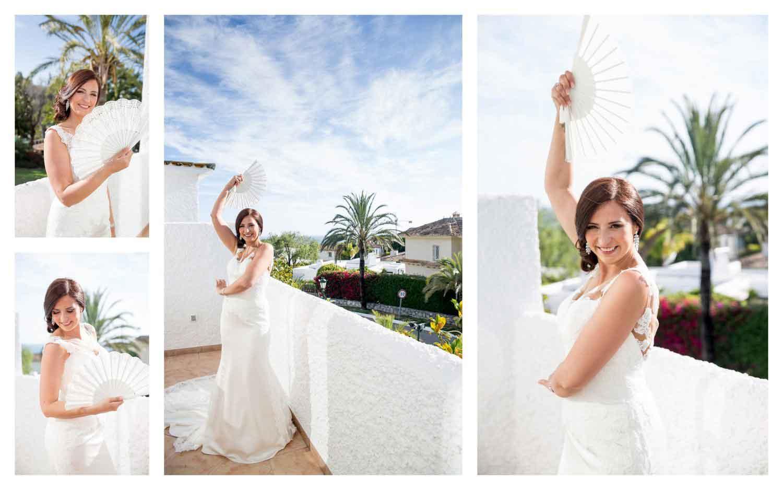 Getting ready wedding marbella