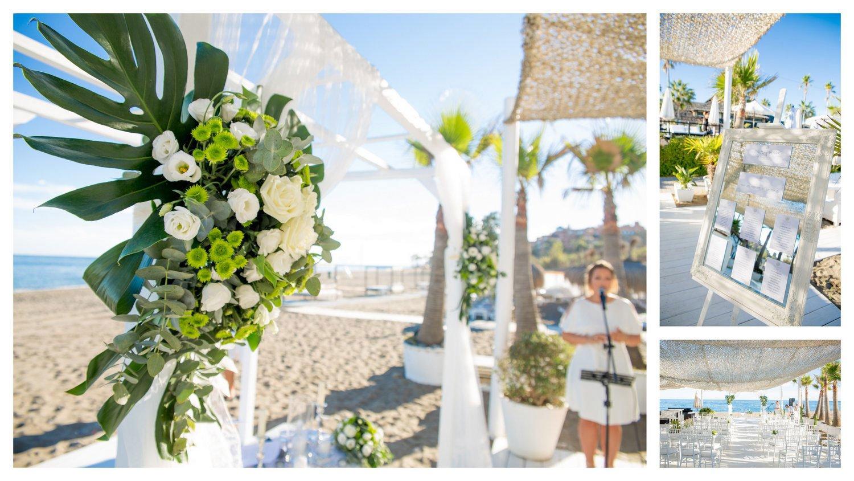 wedding puro beach marbella