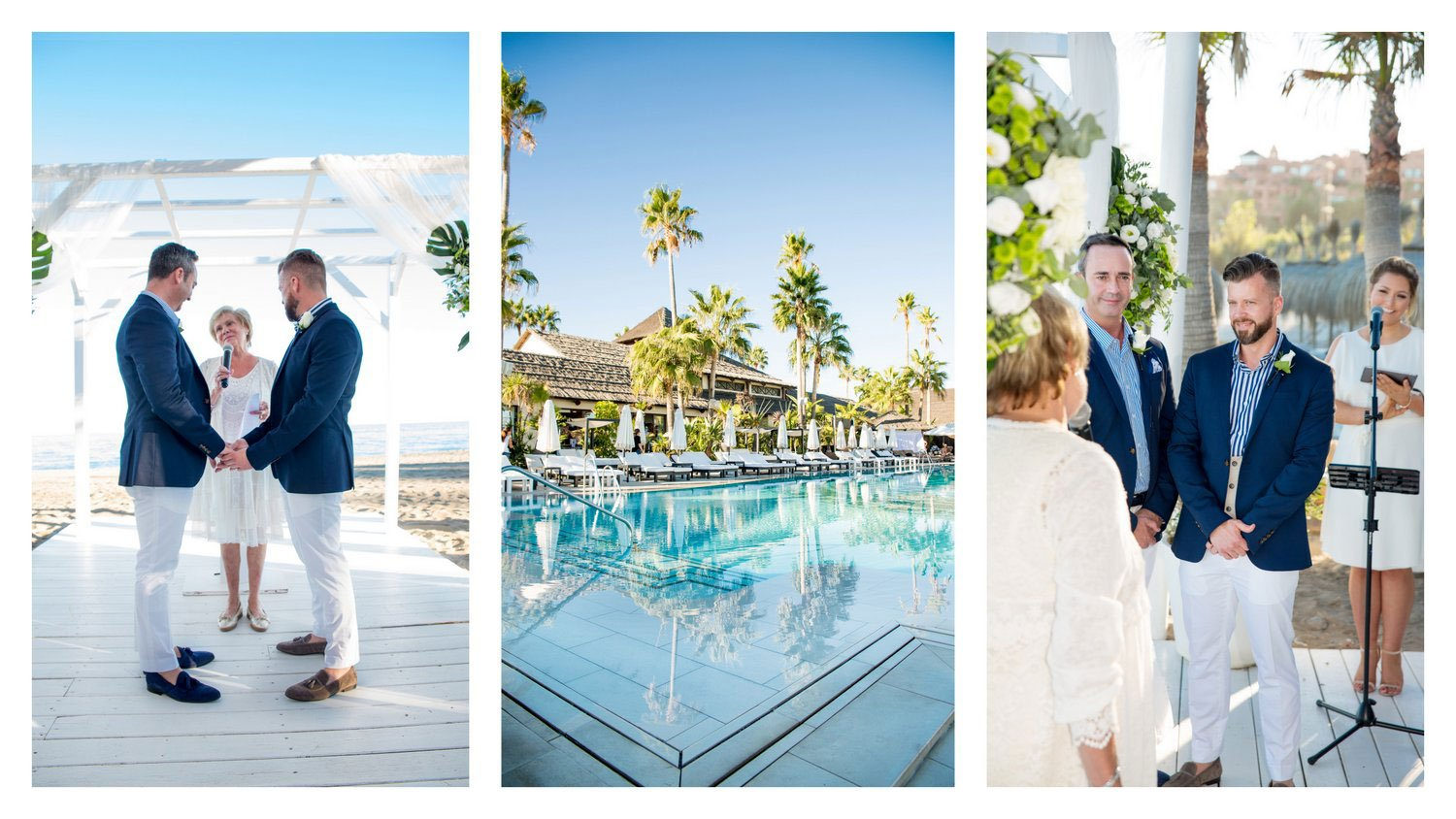 wedding puro beach marbella